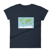 Load image into Gallery viewer, BuzzFeed Save The Earth Earth Day Women's T-Shirt