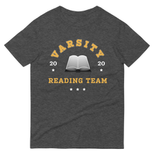 Load image into Gallery viewer, BuzzFeed Varsity Reading Team Book Day T-Shirt