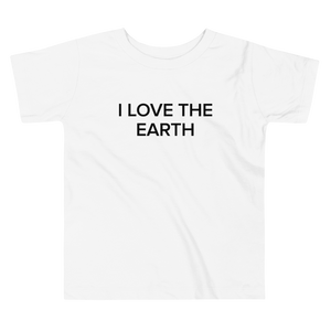 BuzzFeed I Love The Earth Earth Day Toddler T-Shirt