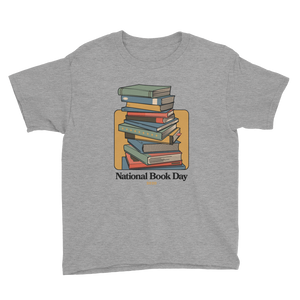BuzzFeed Stack O' Books Book Day Youth T-Shirt