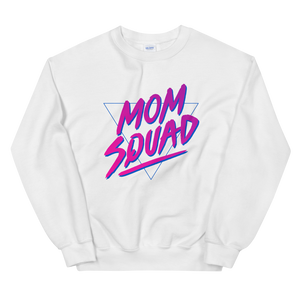 Mom In Progress 80s Mom Squad Sweatshirt