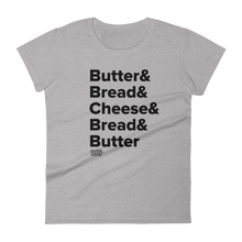 Load image into Gallery viewer, Tasty Grilled Cheese Recipe Women's T-Shirt