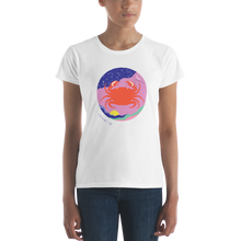 Load image into Gallery viewer, BuzzFeed Zodiac Cancer Design Women's T-Shirt