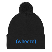 Load image into Gallery viewer, BuzzFeed Unsolved (wheeze) Pom Pom Beanie