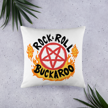Load image into Gallery viewer, BuzzFeed Unsolved Rock & Roll Buckaroo Pillow