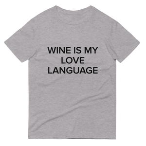 BuzzFeed Love Language Wine Day T-Shirt
