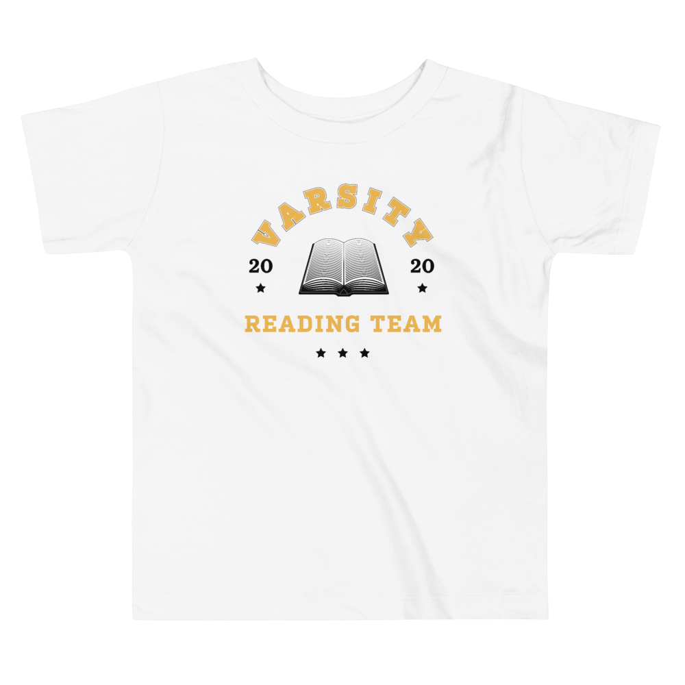 BuzzFeed Varsity Reading Team Book Day Toddler T-Shirt