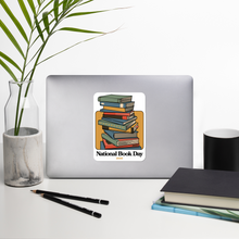 Load image into Gallery viewer, BuzzFeed Stack O' Books Book Day Sticker