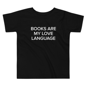 BuzzFeed Love Language Book Day Toddler T-Shirt