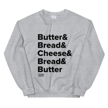 Load image into Gallery viewer, Tasty Grilled Cheese Recipe Sweatshirt