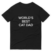 Load image into Gallery viewer, BuzzFeed Cat Dad Father's Day T-Shirt