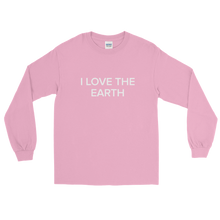 Load image into Gallery viewer, BuzzFeed I Love The Earth Earth Day Long Sleeve T-Shirt
