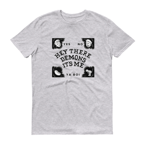 BuzzFeed Unsolved Hey There Demons Board T-Shirt