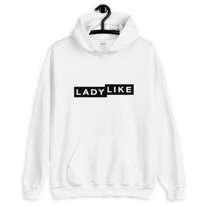 Ladylike Logo Unisex Hooded Sweatshirt