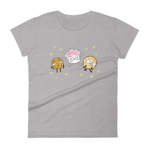 The Good Advice Cupcake & Friends Women's T-Shirt