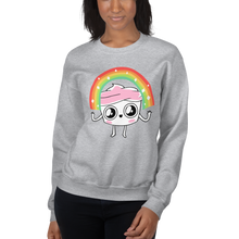 Load image into Gallery viewer, The Good Advice Cupcake Rainbow Sweatshirt