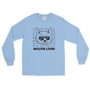 Multiplayer By BuzzFeed Wolfie Lives Long Sleeve T-Shirt