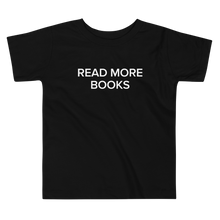Load image into Gallery viewer, BuzzFeed Read More Books Book Day Toddler T-Shirt