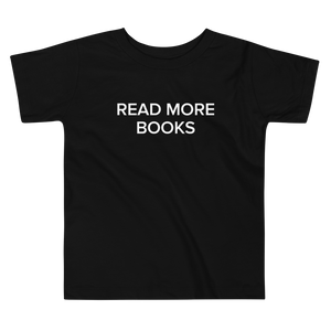 BuzzFeed Read More Books Book Day Toddler T-Shirt