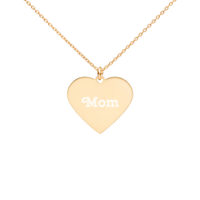 Load image into Gallery viewer, BuzzFeed Mom Mother's Day Heart Necklace