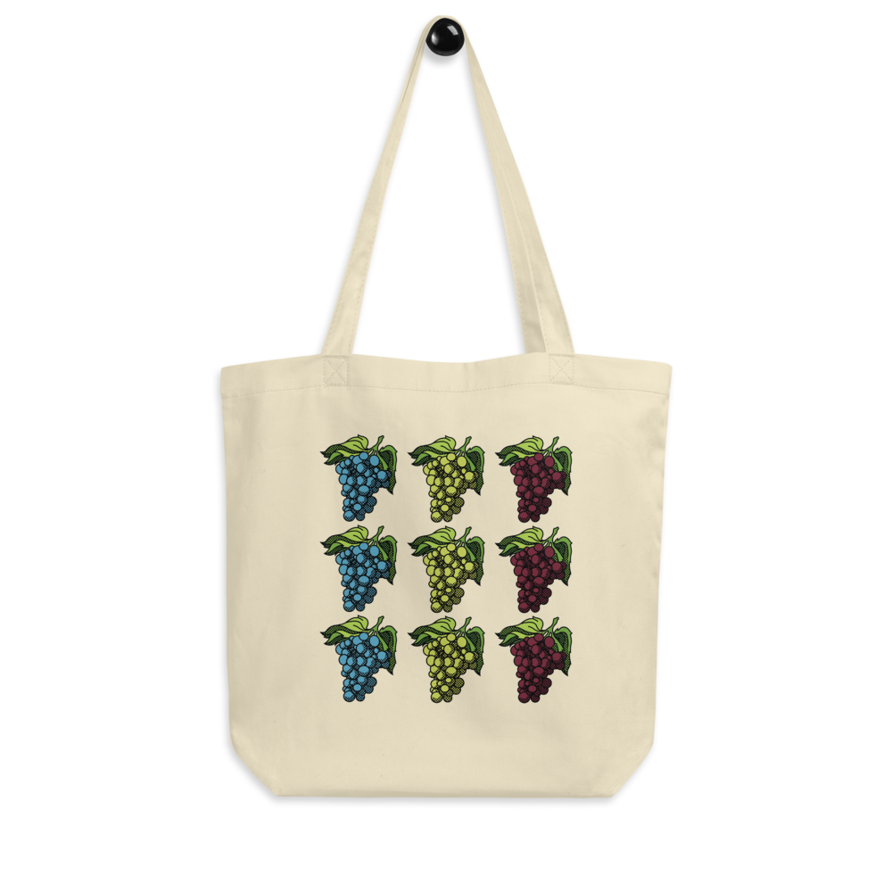 BuzzFeed Grapes Wine Day Tote Bag