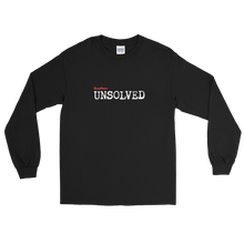 Load image into Gallery viewer, BuzzFeed Unsolved Logo Long Sleeve T-Shirt