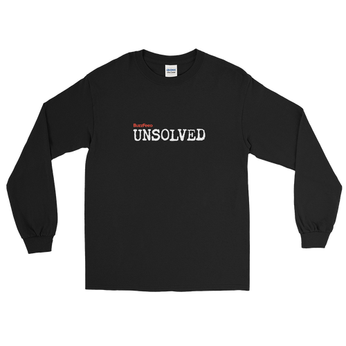BuzzFeed Unsolved Logo Long Sleeve T-Shirt