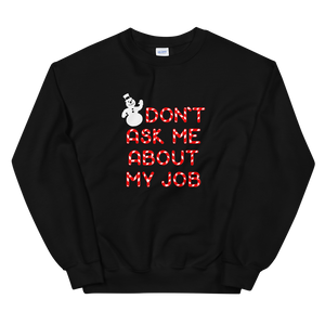 BuzzFeed My Job Ugly Holiday Sweater Sweatshirt