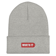 Load image into Gallery viewer, Worth It Logo Beanie