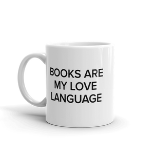 BuzzFeed Love Language Book Day Mug