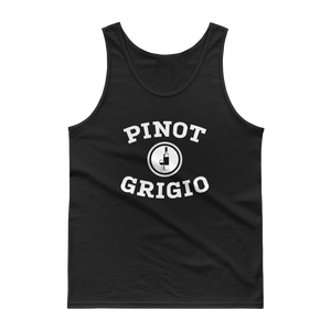 BuzzFeed Pinot Grigio Collegiate Wine Day Tank Top