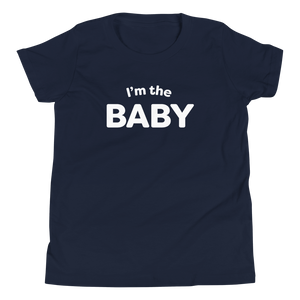 Mom In Progress I'm The Baby Youth T-Shirt