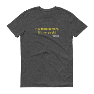BuzzFeed Unsolved Hey There Demons Girl 2.0 T-Shirt