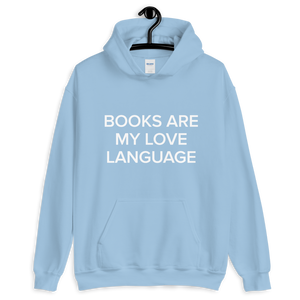 BuzzFeed Love Language Book Day Hooded Sweatshirt