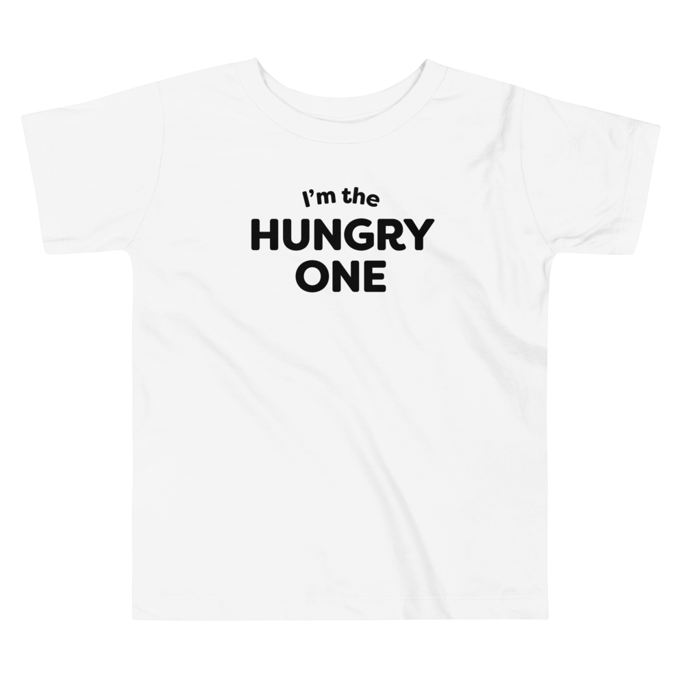 Mom In Progress Hungry One Toddler T-Shirt