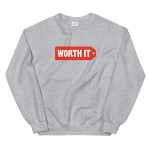 Worth It Logo Sweatshirt