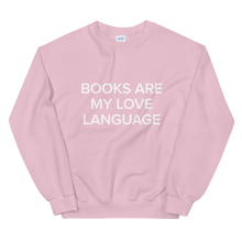 Load image into Gallery viewer, BuzzFeed Love Language Book Day Sweatshirt