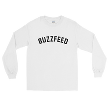 Load image into Gallery viewer, BuzzFeed Collegiate Logo Long Sleeve T-Shirt