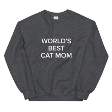 Load image into Gallery viewer, BuzzFeed Cat Mom Mother's Day Sweatshirt