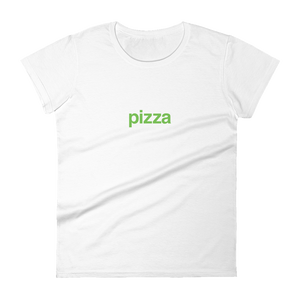 BuzzFeed Pizza Green Best Friend Day Women's T-Shirt