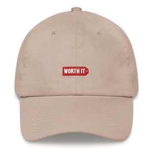 Worth It Logo Dad hat