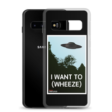 Load image into Gallery viewer, BuzzFeed Unsolved I Want To (Wheeze) Samsung Case