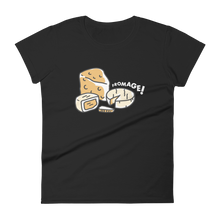 Load image into Gallery viewer, Eating Your Feed Fromage! Women's T-Shirt