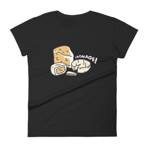 Eating Your Feed Fromage! Women's T-Shirt