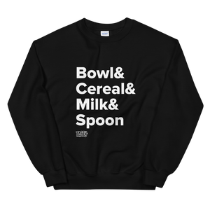 Tasty Cereal Recipe Sweatshirt