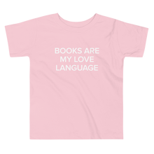 Load image into Gallery viewer, BuzzFeed Love Language Book Day Toddler T-Shirt