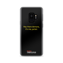 Load image into Gallery viewer, BuzzFeed Unsolved Hey There Demons 2.0 Samsung Phone Case