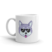 Load image into Gallery viewer, Multiplayer By BuzzFeed Wolfie Emote Mug