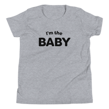Load image into Gallery viewer, Mom In Progress I'm The Baby Youth T-Shirt