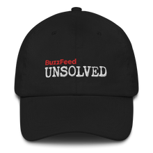 Load image into Gallery viewer, BuzzFeed Unsolved Logo Dad hat